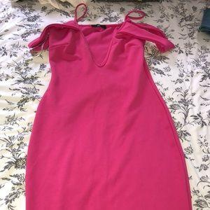 Missguided Midi Form Fitting dress